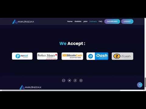 Amazingdax | New Crypto Investment Site | Legit Or Scam?