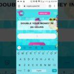 Crypto quest Scam Or Legit  Bitcoin Double R Site 2020  Live Deposit 🤩🤩  BTC,LTC,ETH,DOGE,USD DOUB