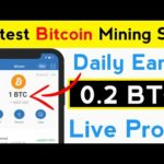 Daily Earn 0.2 BTC | New Latest Bitcoin Mining Site | New Bitcoin Mining Site | Free BTC Mining Site