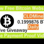 New Free Bitcoin Mining Site 2020-Free Cloud Mining Site 2020-Live Payment Proof Video