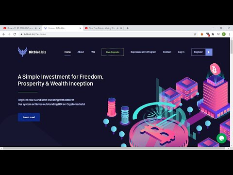 New Free Bitcoin Mining Site 2020 - Earn Hourly 33.5% Live 35 USD Payment Proof 2020