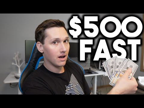 This is a FAST way to make $500! (make money online 2020)