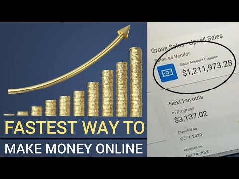 Fastest Way To Make Money Online (Overnight) | Make Money Online 2020 | Wesley Virgin Reviews