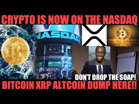 BREAKING NEWS! BITCOIN IS NOW ON THE NASDAQ! BITCOIN XRP ALTCOIN DUMP IS HERE! BITMEX GOES TO JAIL?