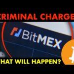 BITMEX Criminal Charges!!! #Bitcoin Dumps?! BIG NEWS!