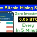 New Latest Bitcoin Mining Site | Earn Bitcoin Without Investment | Free Bitcoin Mining Site