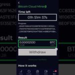BITCOIN MINING APP 2020 | MINE BTC in 5 Minutes on Android phone.