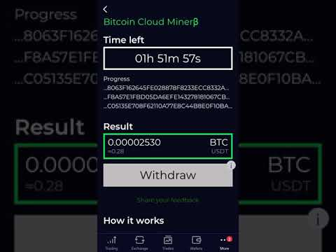 BITCOIN MINING APP 2020   MINE BTC in 5 Minutes on Android phone.