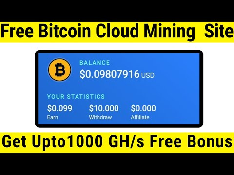 New Free Bitcoin Mining Website 2020 || New Free Cloud Mining Website || With Payment Proof