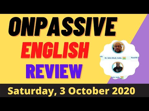 Onpassive    Onpassive English Review    How to Make Money Online   