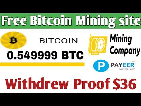 Miningcompany Live Peyment Proof $36 ! Free Bitcoin Cloud Mining Site ! Free Earb BTC TRICK