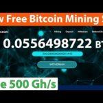 New Free Bitcoin Mining Site - Free 500 Gh/s Sign Up Bonus