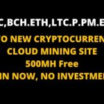 TWO NEW CRYPTOCURRENCY MINING SITE| 500 MH BONUS |NO INVESTMENT | FREE CLOUD BITCOIN MINING