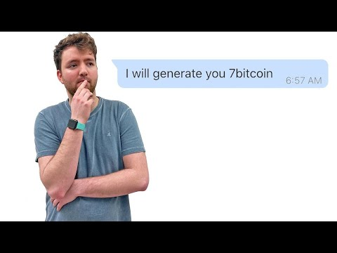 I Reply to Bitcoin Scammers