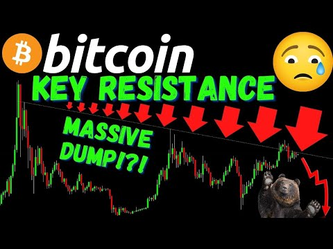 MASSIVE BITCOIN DUMP COMING!?! Also LTC and ETH Crypto BTC TA price prediction analysis news trading