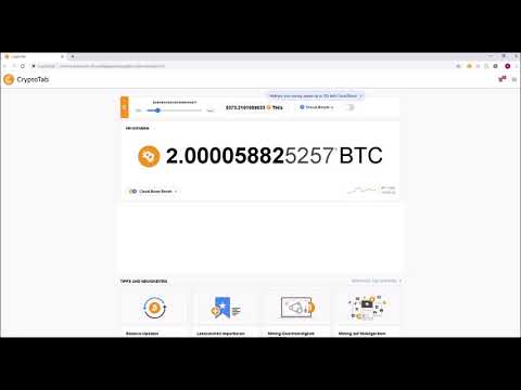 Easy Bitcoin Mining and fast whitdraw | MIN 1BTC PER MONTH [WIN/MAC]