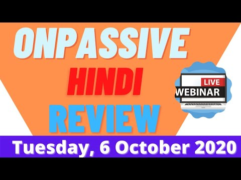 Onpassive || How to Make Money Online || Passive Income Ideas