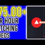Earn $75 Per Hour Watching Videos! [Make Money Online 2020]