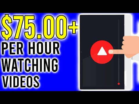 Earn $75 Per Hour Watching Videos! [Make Money Online 2020]