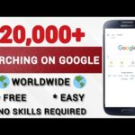 Make $20,000+ Online Searching Google (Available Worldwide!) | Make Money Online