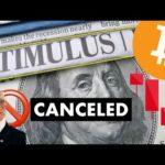 STIMULUS CANCELED 🚫 $5.9k?! + INSANE NEWS FOR #CRYPTO & #BITCOIN
