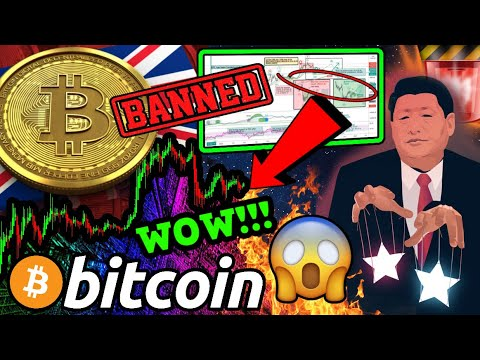 BITCOIN INCREDIBLE CHART!!! CHINA PLAN SECRET BTC PUMP?!!! FCA BANS CRYPTO DERIVATIVES!!!