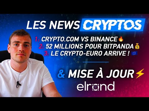 Le marché bouge | Crypto News & Update Elrond $eGLD