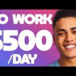 FREE $500/Hour NO WORK (Copy & Paste) Make Money Online