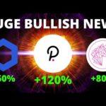 HUGE NEWS for Uniswap (UNI), Polkadot (DOT) + Top Coin Analysis! | Bullish Crypto News
