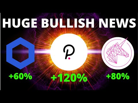 HUGE NEWS for Uniswap (UNI), Polkadot (DOT) + Top Coin Analysis! | Bullish Crypto News