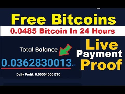 NEW BEST FAST FREE BITCOIN MINING SITE + NO Investment !!! Payment Proof  0.01539 Btcoins