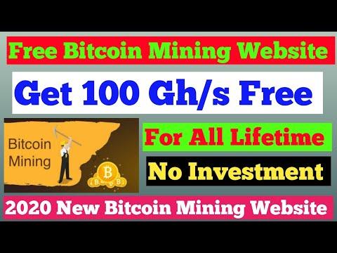 Bitcoin Mining Sites.Bitcoin Mining Software 2020 Get 100 Gh/s Free
