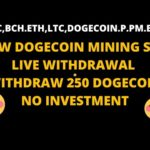 SOSMINING| LIVE WITHDRAWAL PROOF  | FREE CLOUD CRYPTOCURRENCY  MINING  SITE | NO  INVESTMENT