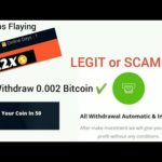 Btc2x Biz LEGIT or SCAM ? | WITHDRAW 0.002 bitcoins | Double Yours AltCoins by Cryptos Flaying