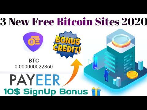 3 New Free Bitcoin Mining Site 2020,Glory mining new free bitcoin site 10$ bonus,new free Bitcoin,