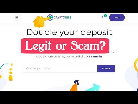 Cryptorise.Ltd Legit or Scam? New Crypto Doubler Website 2020