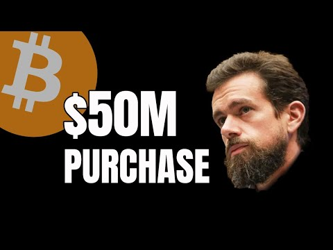 Jack Dorsey's Square Purchases $50M of Bitcoin // Live Crypto News Update