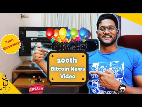 100th Bitcoin News Video - CryptoTamil #100
