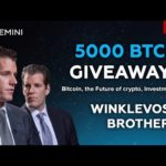 🔴 Gemini Exchange  Event | Bitcoin | Cameron and Tyler Winklevoss brothers | Finance | 10/10/2020