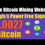 Daily 0.002 Btc Earn   New Bitcoin Mining Website 2020   10 gh/s Power Free Signup   Ahmad Online