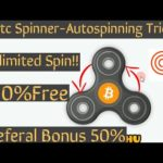 BTC Spinner- Auto Spinner Setup/Unlimited Earning/100% working/Crypto Mining