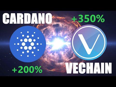HUGE NEWS for Cardano (ADA) + Vechain (VET)   Bullish Crypto News