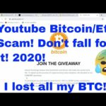 Bitcoin/Eth Scam on Youtube! Don't fall for it!