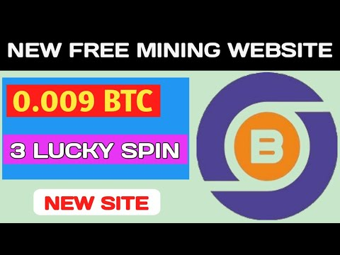 New Best Free Bitcoin Mining website, Free BTC Mining Site 2020, Earn BTC without investment