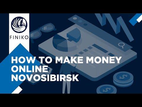 How to make money? Online. Novosibirsk