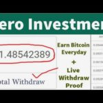 New Best Free Bitcoin Mining Site 2020  Earn 1 Btc Daily  Without Investment