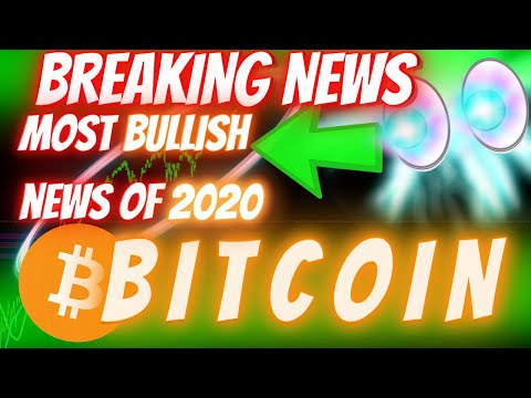 BREAKING NEWS!!! THIS IS THE *MOST BULLISH* BITCOIN NEWS OF 2020! (The Golden Ticket)