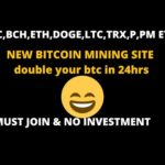 NEW BITCOIN MINING SITE| DOUBLE BTC AFTER 24HRS | FREE CLOUD CRYPTOCURRENCY MINING