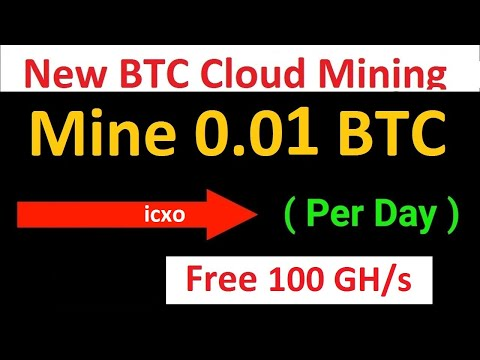 ICXO CLOUD MINING FREE BITCOIN MINING EVERY MINUTE!! NO HACK NO TRICKS NO INVESTMENT