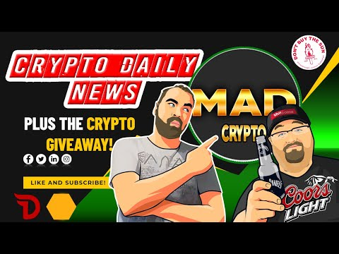 Crypto Daily News, TA, Bitcoin Price Action Plus Crypto Giveaway Update!